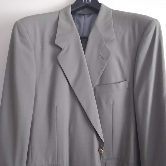 Hickey Freeman Other - Custom Hickey Freeman Suit By Saks Fifth Ave. S 50